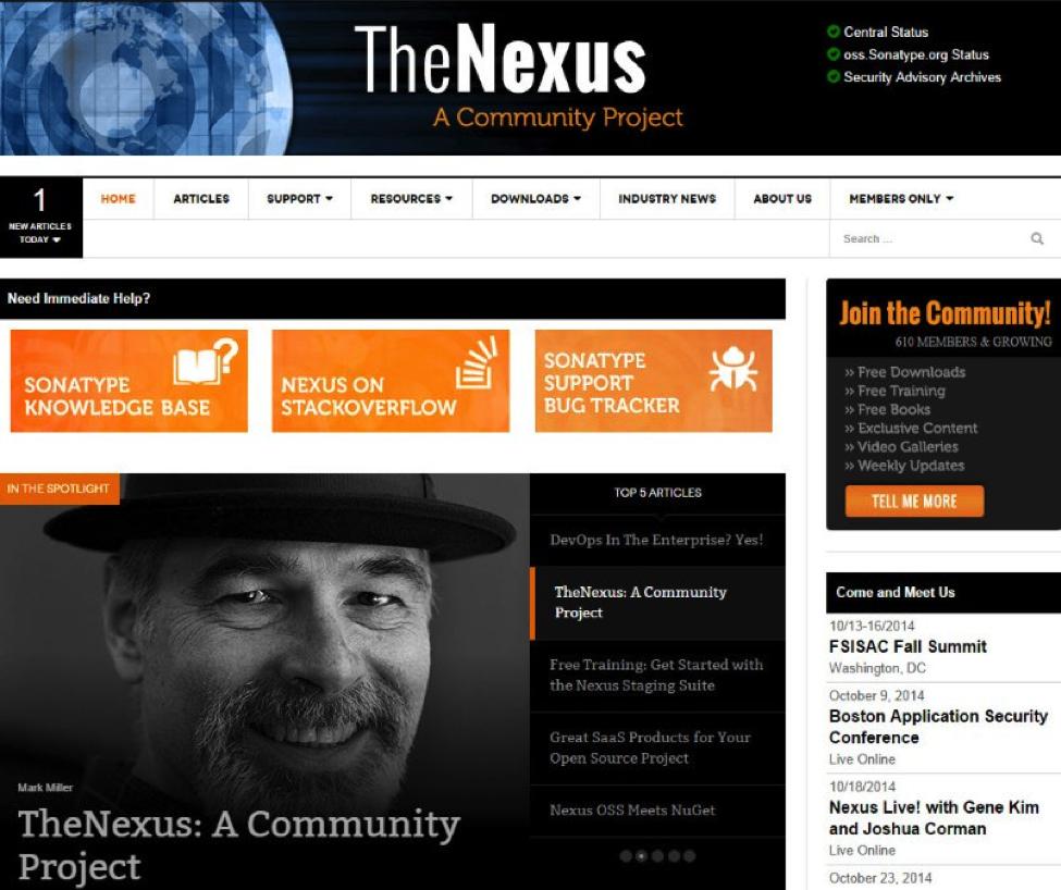 TheNexus page
