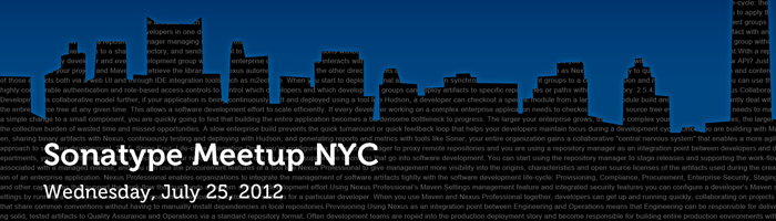 Sonatype Meetup in NYC