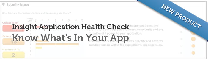 Insight Application Health Check: Know What's In Your App