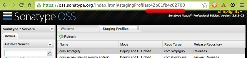 Staging Profile