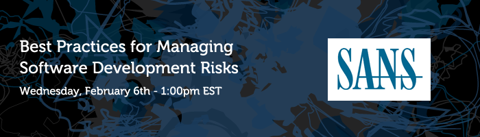 Best Practices for Managing Software Development Risks: Wednesday, February 6th