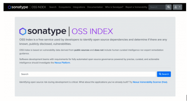 Sonatype-OSSIndex