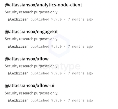 Lack of namespace ownership verification in npm