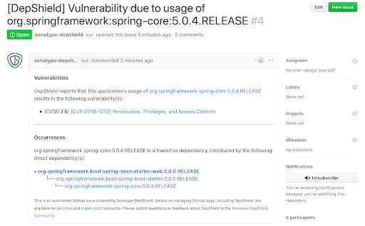 DepShield Vulnerability Report