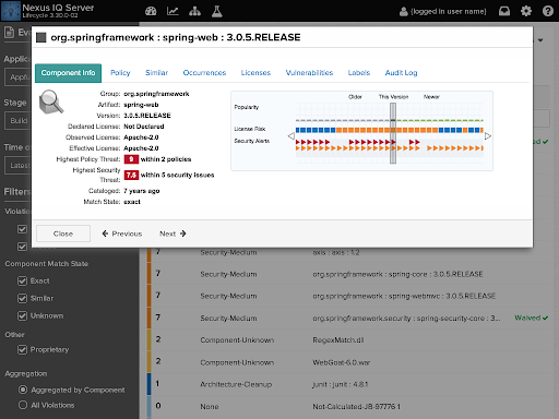 Policy-Oriented Reporting for Nexus Lifecycle