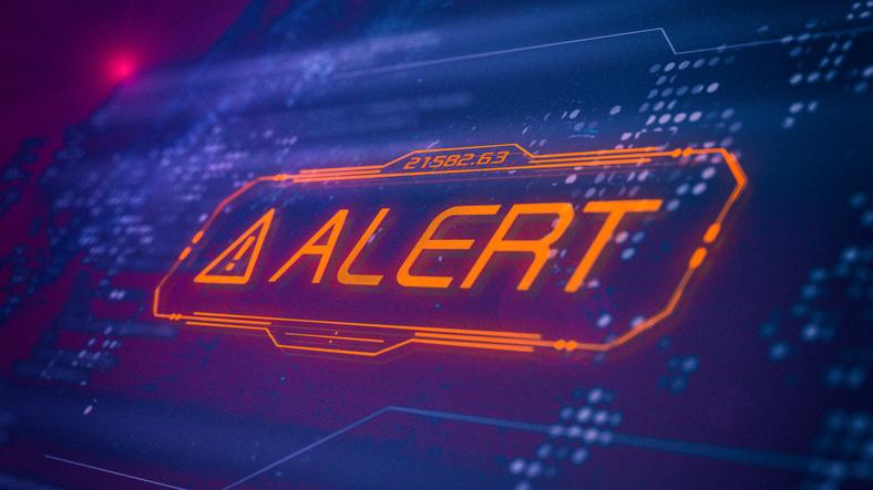 System alert image
