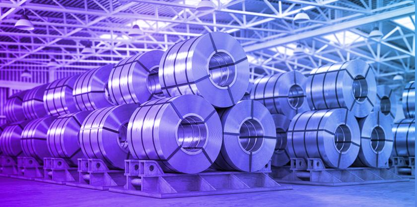 Image of steel representing US Steel