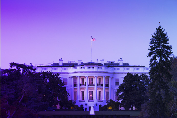 Image of the White House to represent President Biden's 2021 Cybersecurity Executive Order