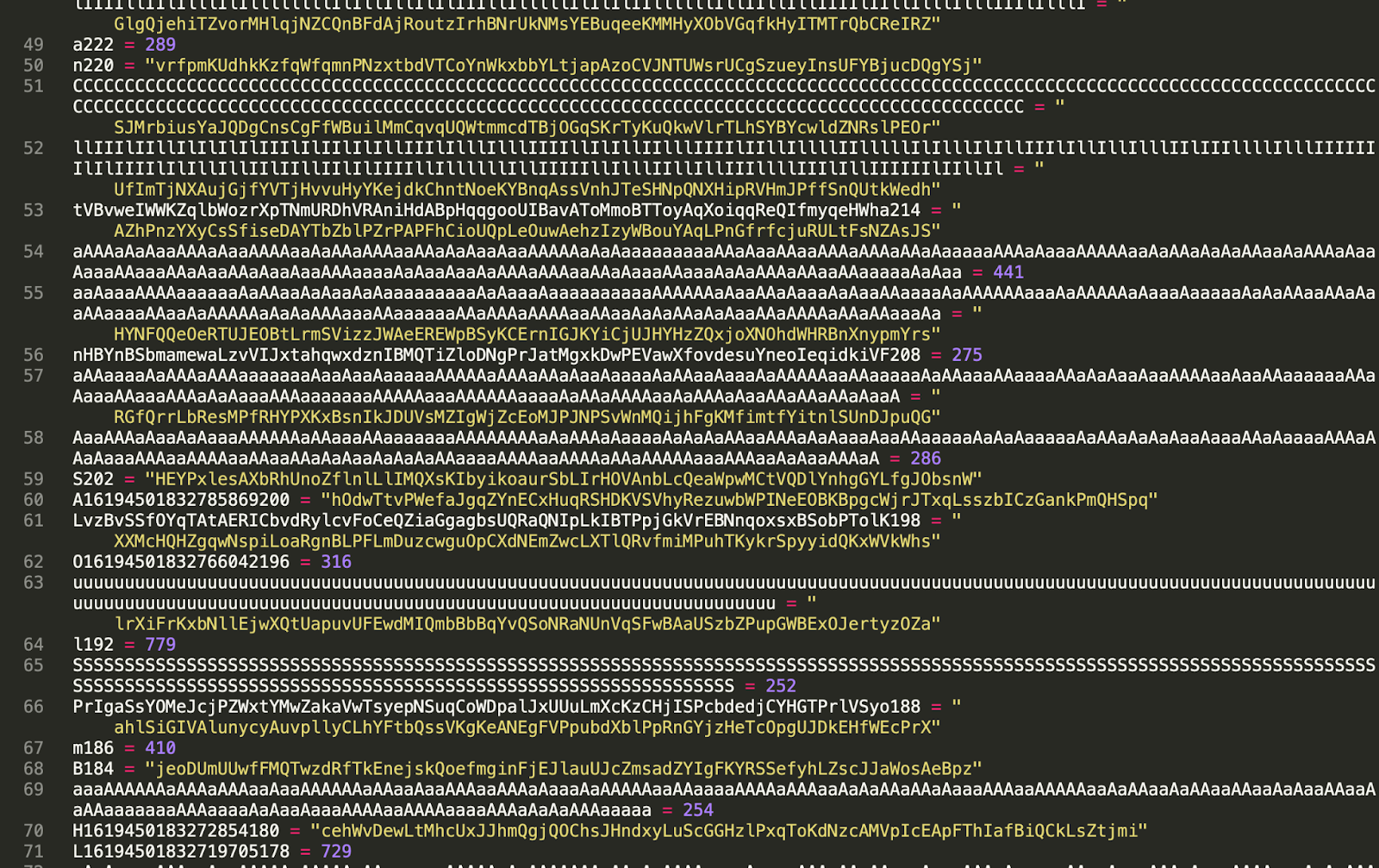 """""""maratlib"""" contains heavily obfuscated code"""