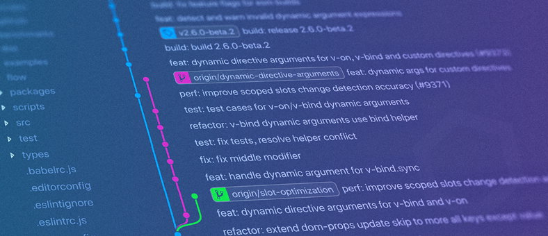 Code commit screenshot