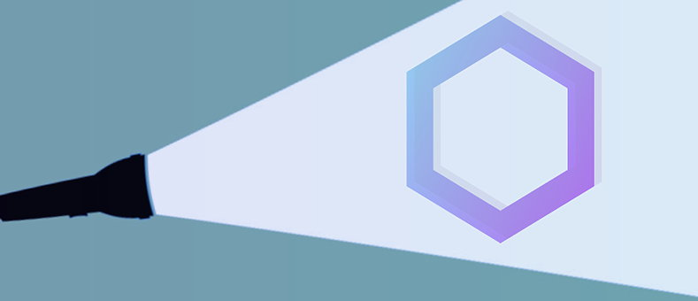Image of a spotlight on Sonatype's logo